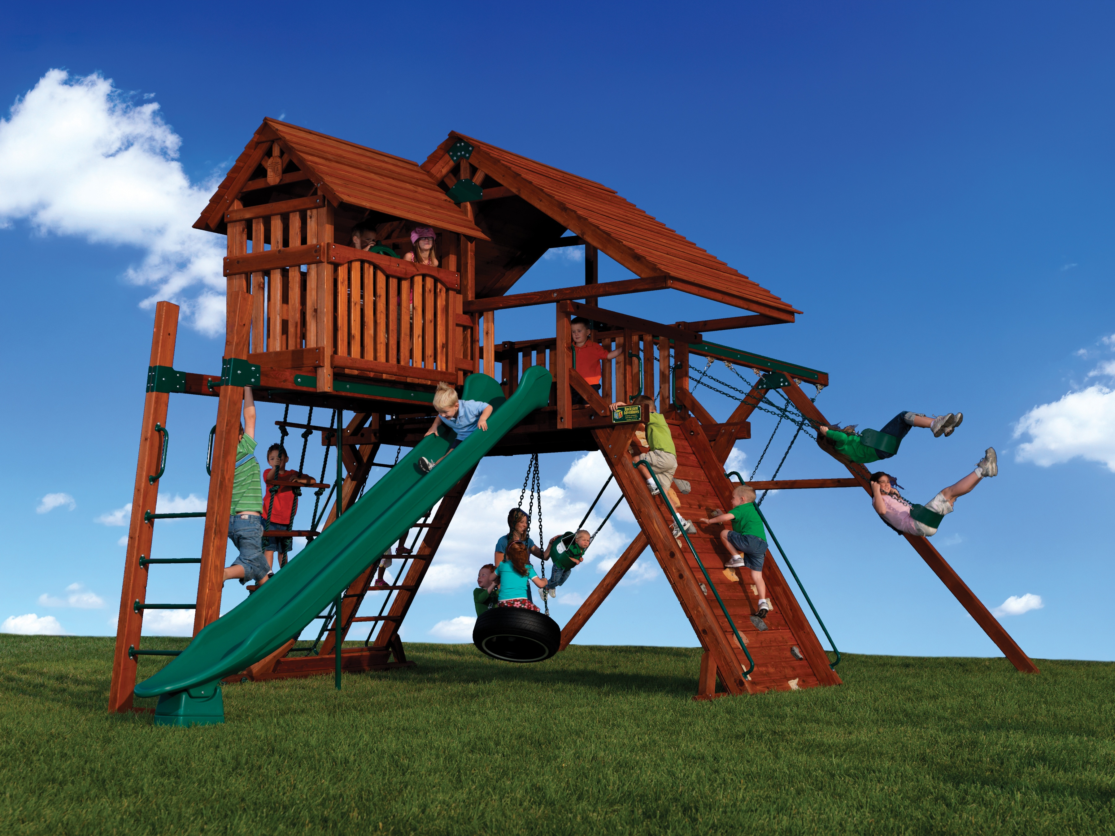 Peak Series Playsets for Unlevel Yards