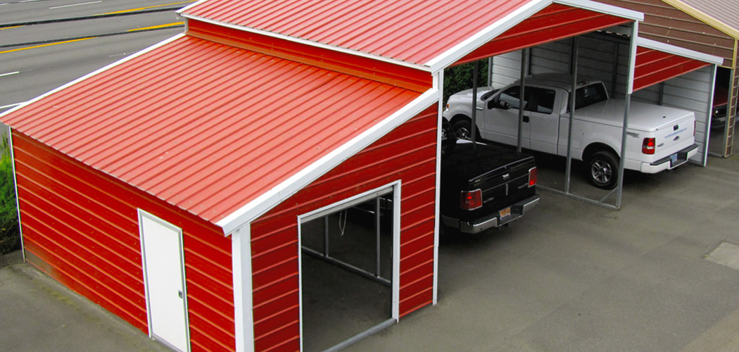 West Coast Metal Buildings Supplies Custom Carports Sheds