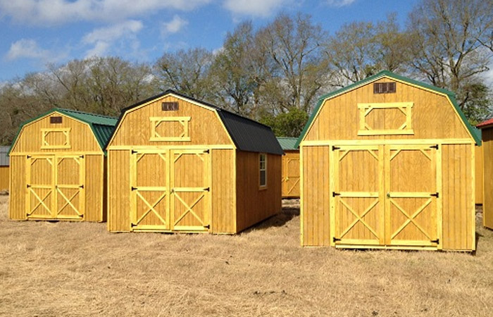 Wooden Sheds, Barns, Cabins