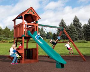 Olympian Treehouse Junior 3 Playset Idaho