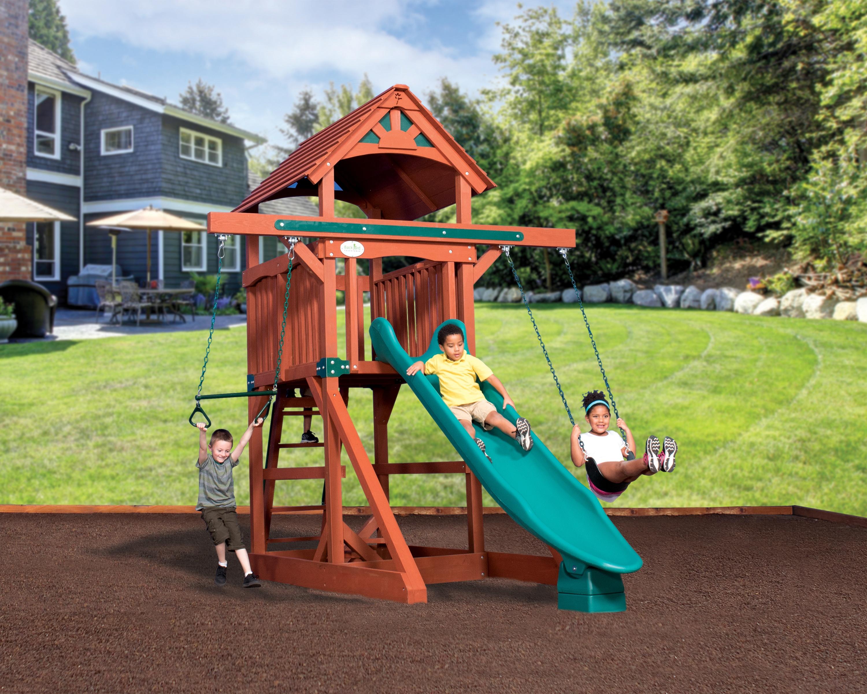 Backyard Adventures Adventure Treehouse Space Saver Idaho Playsets