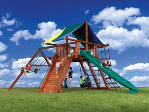 Backyard Adventures Idaho Titan Peak 1 playground playset install