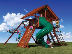 Backyard Adventures Idaho Peak 2 playground playset install
