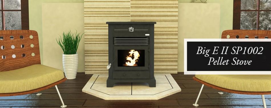 Big E2 pellet stove SP1002