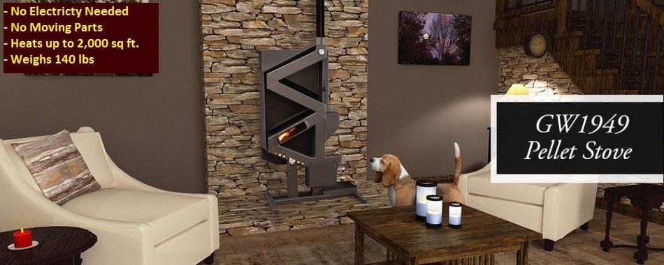 GW194920 lifestyle pellet stove
