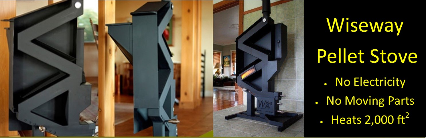 Idaho Outdoor Solutions Wiseway Pellet Stove nonelectric stove