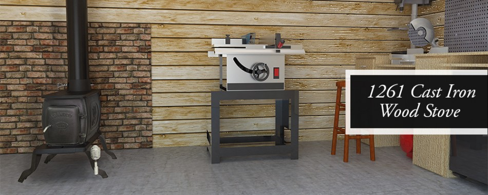 Cast Iron Wood Stove model 1261