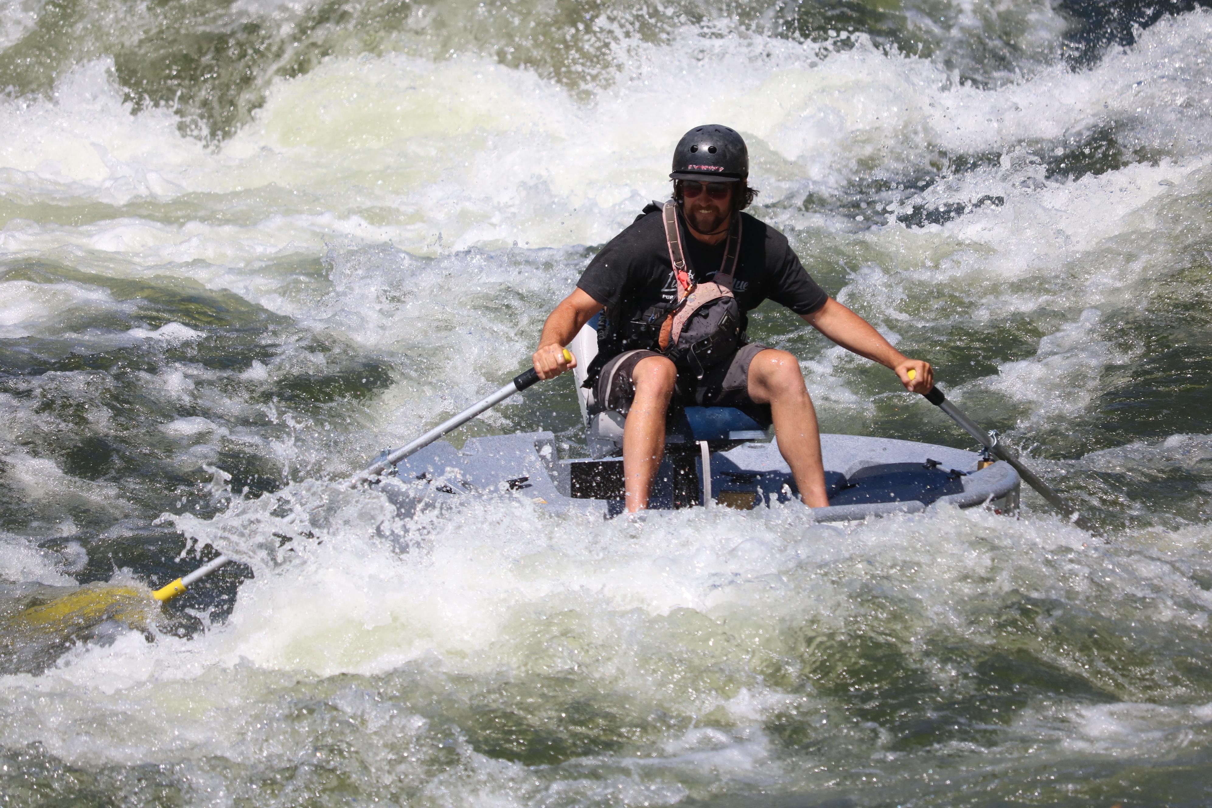 Ultraskiff and Class 3 rapids
