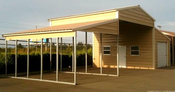 West Coast Metal Buildings Barn