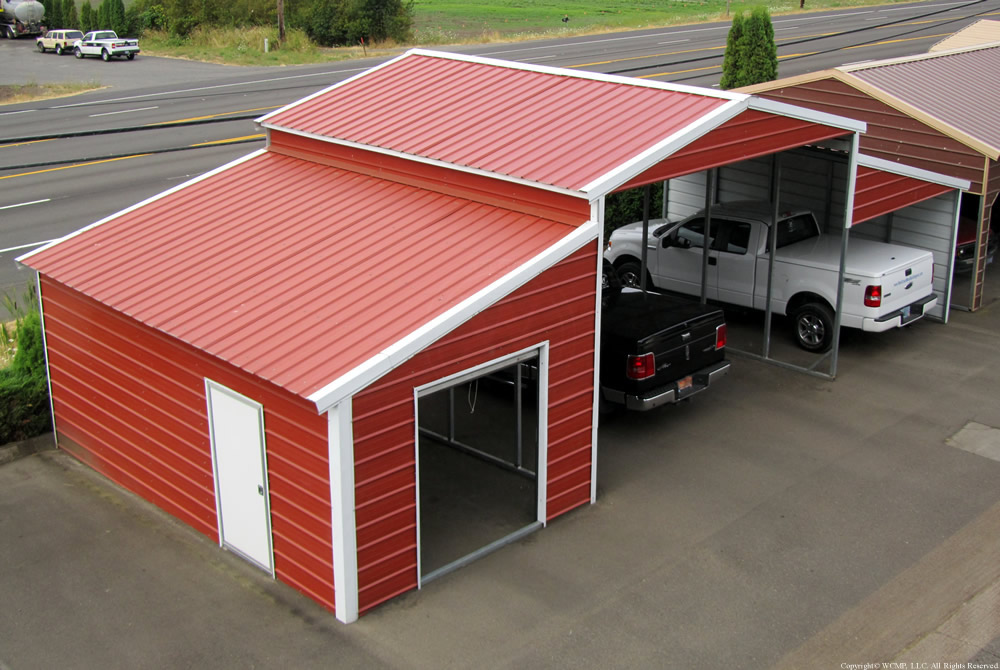 West Coast Metal Buildings Barn Idaho