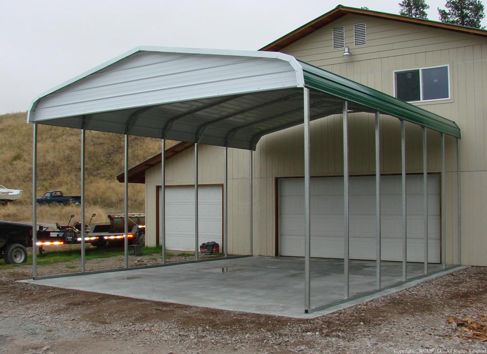 West Coast metal Buildings Idaho Carport