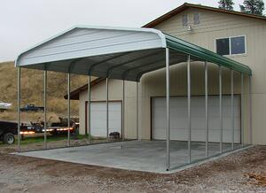 West Coast metal Buildings Idaho Carport