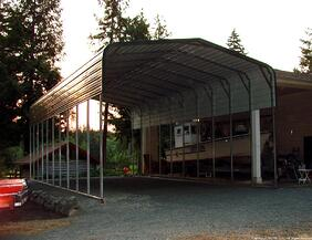 West Coast Metal Buildings Carport Example Idaho