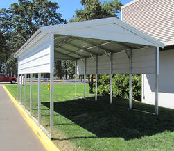 West Coast Metal Buildings Idaho Carport Example