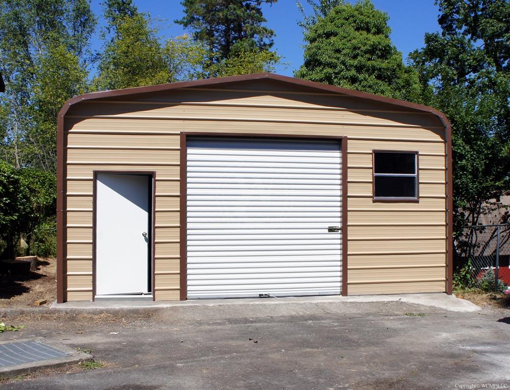West Coast Metal Buildings Idaho Garage
