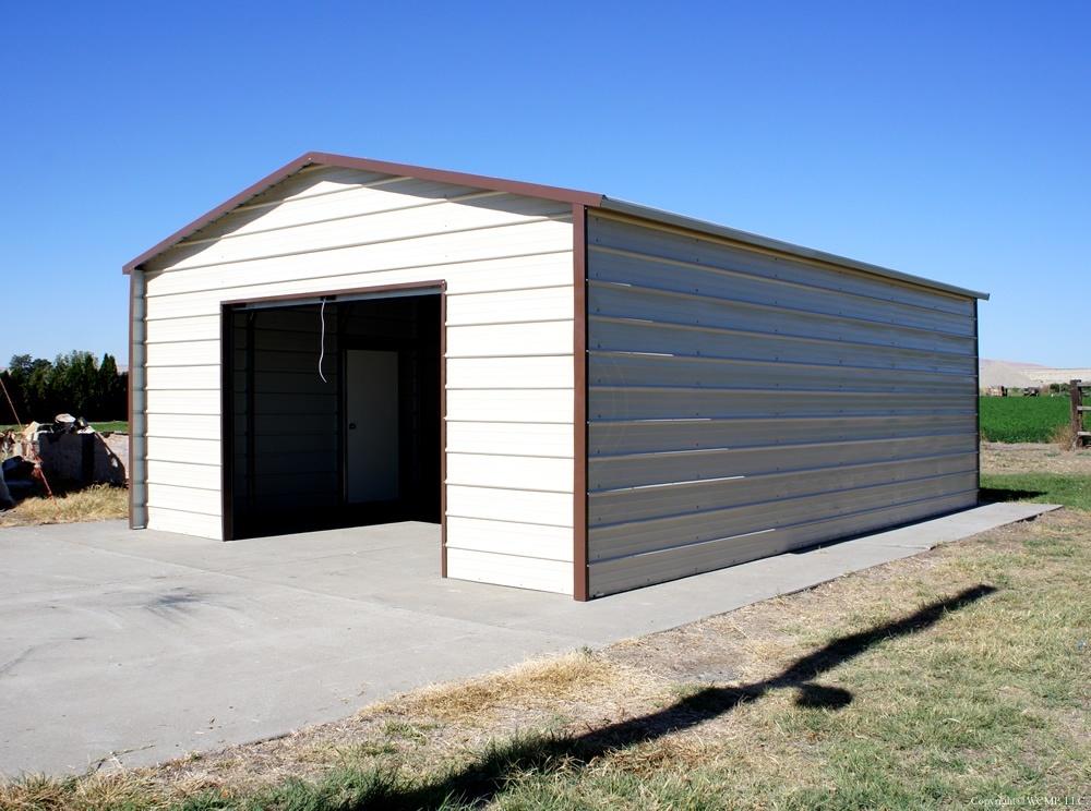 West Coast Metal Buildings Garage