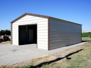 West Coast Metal Buildings Idaho Garage