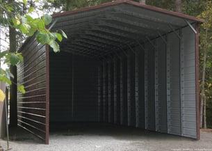 West Coast Metal Buildings Idaho RV camper cover example