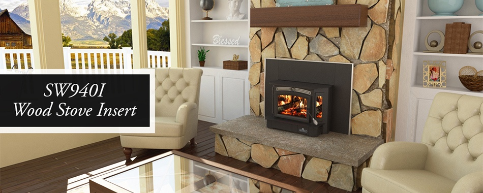 Breckwell Wood Stove insert model 940