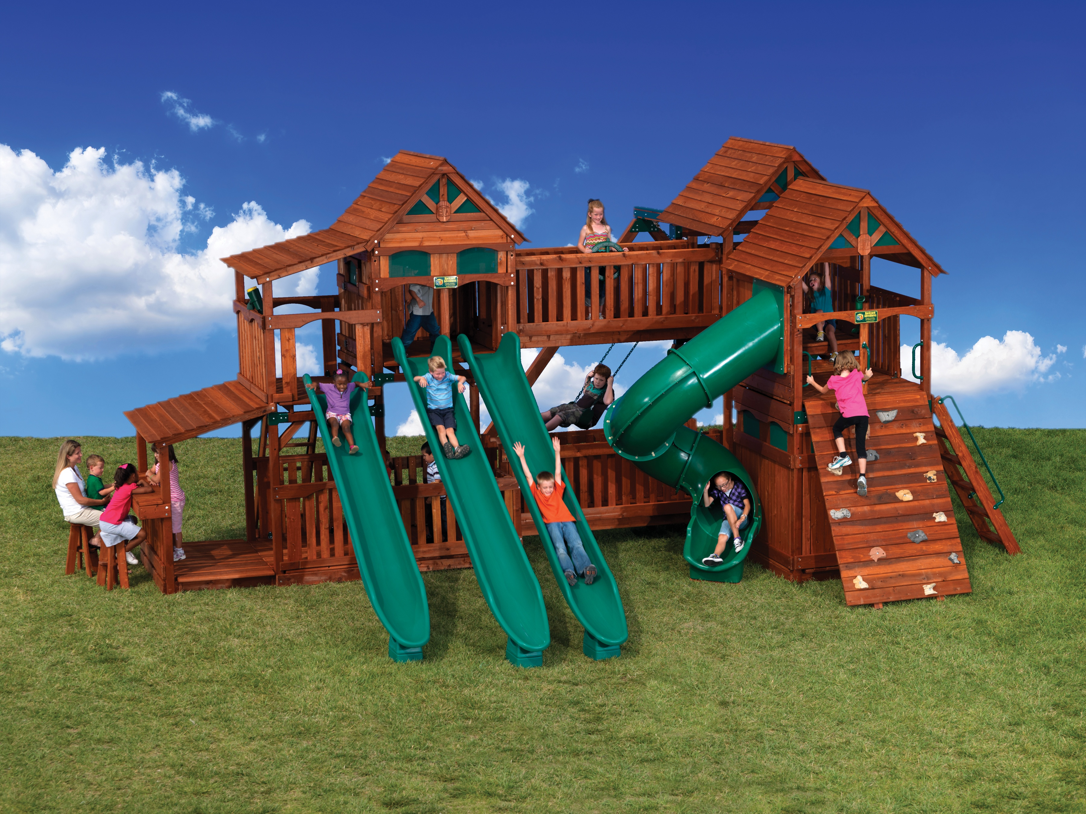 Backyard Adventures Idaho Playsets