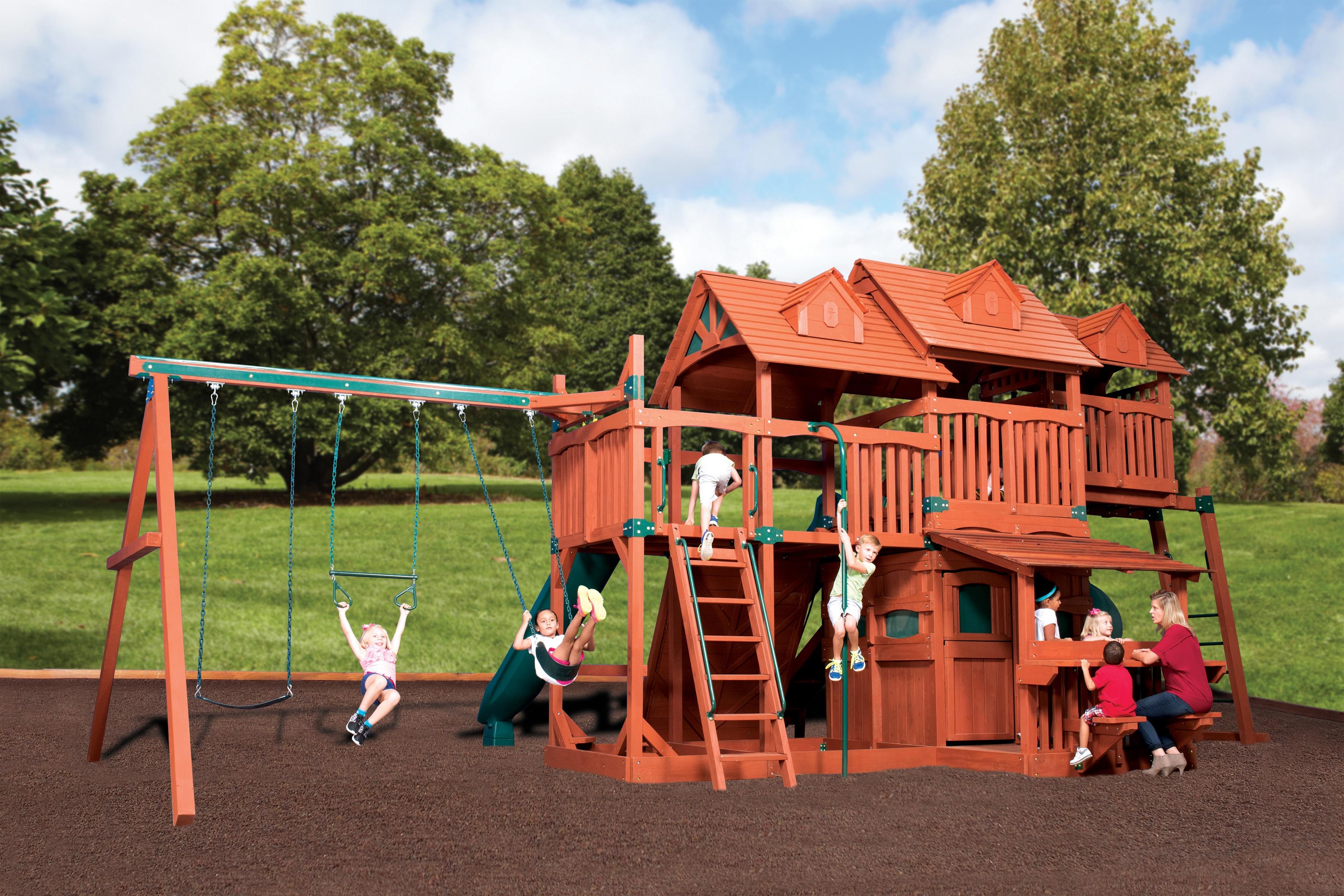 Backyard Adventures Titan Treehouse Jumbo 5 Playset