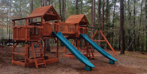 Custom installed playset idaho