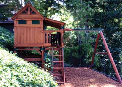 Install Playset Idaho custom design